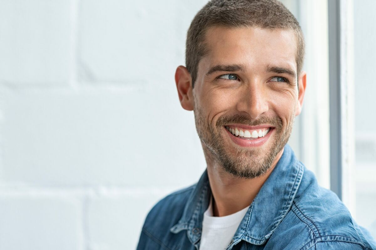 Increase self-confidence by smiling