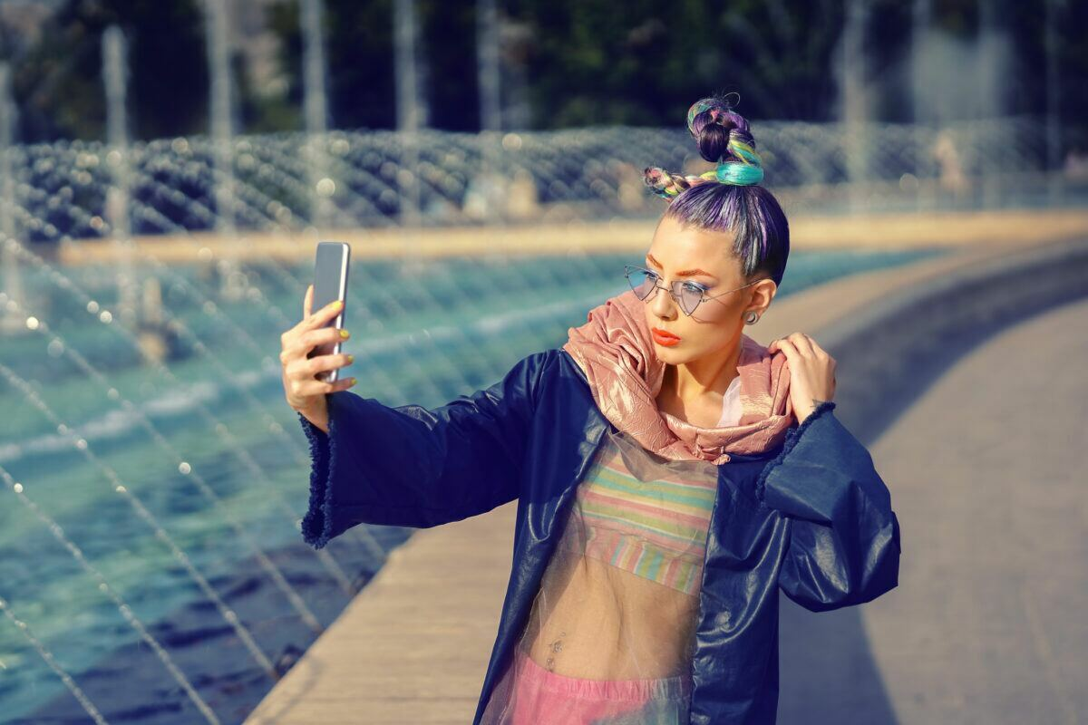 Addicted to Social Media like Instagram and Facebook